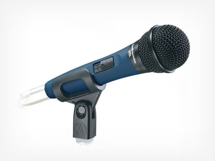 AudioTechnica - Micrófono vocal dinámico Unidireccional Midnight Blues MB1K