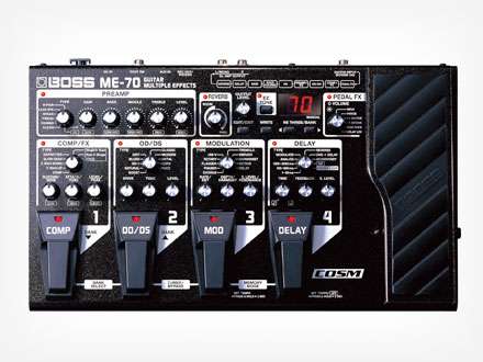Boss - pedalera multiefecto ME70