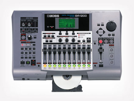 Boss - Estudio de Grabaci�n Digital BR1200CD