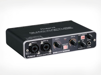 Interface de Audio Midi-Usb Roland UA-55 QUAD-CAPTURE