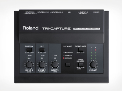Interface de Audio Midi-Usb Roland UA-33 TRI-CAPTURE