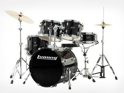Bateria 5 cuerpos Ludwig Accent Drive LC175